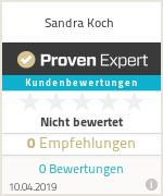 Erfahrungen & Bewertungen zu Sandra Koch