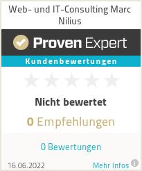 Erfahrungen & Bewertungen zu Web- und IT-Consulting Marc Nilius