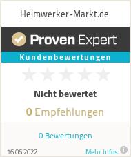 Erfahrungen & Bewertungen zu Heimwerker-Markt.de
