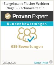 Erfahrungen & Bewertungen zu Steigelmann Fischer Weidner GbR
