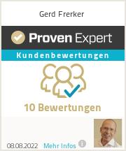 Erfahrungen & Bewertungen zu Gerd Frerker