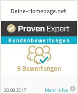 Erfahrungen & Bewertungen zu Deine-Homepage.net