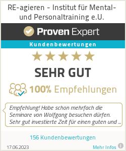 Erfahrungen & Bewertungen zu RE-agieren - Institut für Mental- und Personaltraining e.U.