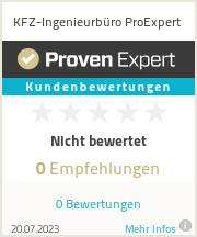 Erfahrungen & Bewertungen zu Kfz-Ingenieurbüro Rheinland