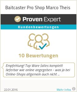 Erfahrungen & Bewertungen zu Baitcaster Pro Shop Marco Theis
