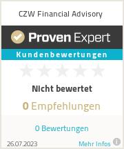 Erfahrungen & Bewertungen zu CZW Financial Advisory