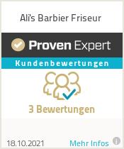 Erfahrungen & Bewertungen zu Ali's Barbier Friseur
