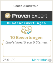 Erfahrungen & Bewertungen zu Coach Akademie