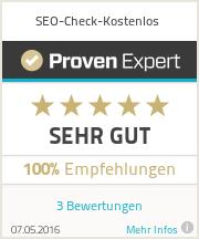 Erfahrungen & Bewertungen zu SEO-Check-Kostenlos