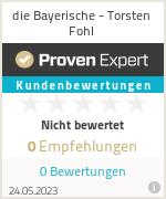 Erfahrungen & Bewertungen zu die Bayerische - Torsten Fohl