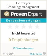 Erfahrungen & Bewertungen zu Heitmeyer Schädlingsmanagement