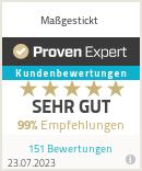 Erfahrungen & Bewertungen zu Maßgestickt Textilveredelung GbR