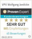 Erfahrungen & Bewertungen zu VPV Wolfgang Joedicke