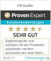 Erfahrungen & Bewertungen zu FM Duefte
