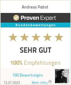 Erfahrungen & Bewertungen zu Andreas Pabst