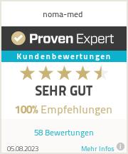 Erfahrungen & Bewertungen zu noma-med GmbH