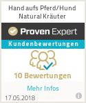 Erfahrungen & Bewertungen zu Hand aufs Pferd/Hund Natural Kräuter