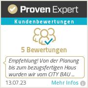 Erfahrungen & Bewertungen zu CITY BAU GmbH