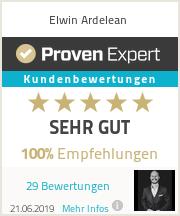 Erfahrungen & Bewertungen zu Elwin Ardelean
