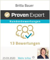 Erfahrungen & Bewertungen zu Britta Bauer