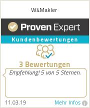 Erfahrungen & Bewertungen zu W4Makler