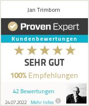 Erfahrungen & Bewertungen zu Jan Trimborn