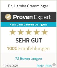 Erfahrungen & Bewertungen zu Dr. Harsha Gramminger