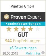 Erfahrungen & Bewertungen zu Puetter GmbH