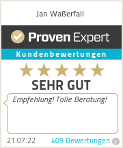 Erfahrungen & Bewertungen zu Jan Waßerfall