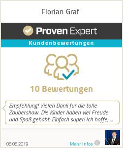 Erfahrungen & Bewertungen zu Florian Graf