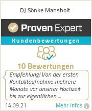 Erfahrungen & Bewertungen zu DJ Sönke Mansholt