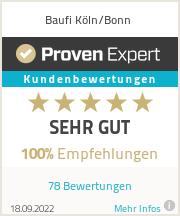 Erfahrungen & Bewertungen zu Baufi Köln/Bonn