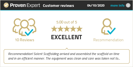 Customer reviews & experiences for Solent Scaffolding Ltd. Show more information.