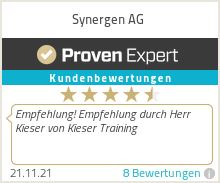 Erfahrungen & Bewertungen zu Synergen AG