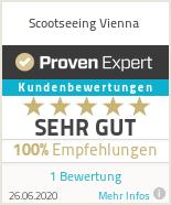 Erfahrungen & Bewertungen zu Scootseeing Vienna