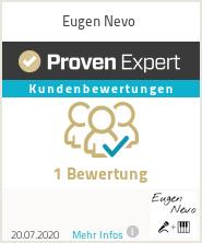 Erfahrungen & Bewertungen zu Eugen Nevo