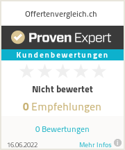 Erfahrungen & Bewertungen zu Offertenvergleich.ch