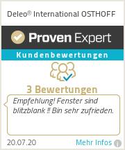Erfahrungen & Bewertungen zu Deleo International OSTHOFF