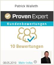 Erfahrungen & Bewertungen zu Patrick Walleth