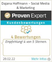 Erfahrungen & Bewertungen zu Dajana Hoffmann - Social Media & Marketing