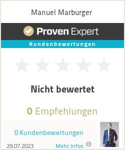 Erfahrungen & Bewertungen zu Manuel Marburger