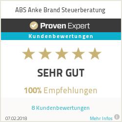 Erfahrungen & Bewertungen zu ABS Anke Brand Steuerberatung