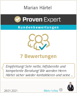 Erfahrungen & Bewertungen zu Marian Härtel
