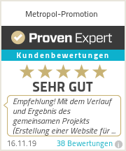 Erfahrungen & Bewertungen zu Metropol-Promotion