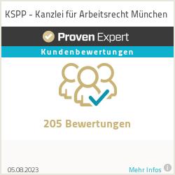 Erfahrungen & Bewertungen zu KSPP - Kanzlei für Arbeitsrecht München