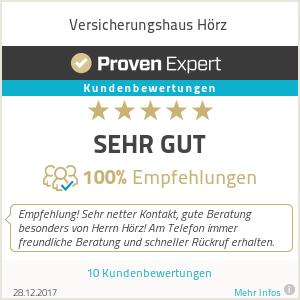 Erfahrungen & Bewertungen zu Versicherungshaus Hörz