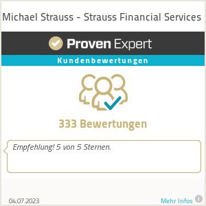 Erfahrungen & Bewertungen zu Michael Strauss - Strauss Financial Services