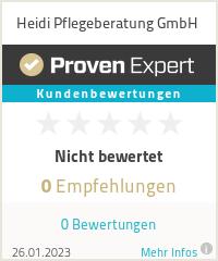 Erfahrungen & Bewertungen zu Heidi Pflege GmbH