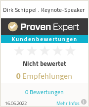 Erfahrungen & Bewertungen zu Dirk Schippel . Keynote-Speaker
