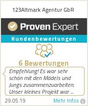 Erfahrungen & Bewertungen zu 123Altmark Agentur GbR